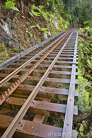 Wilderness Railway Strahan Tasmania