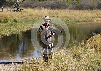 Wildlife Photographer on Location - Botswana