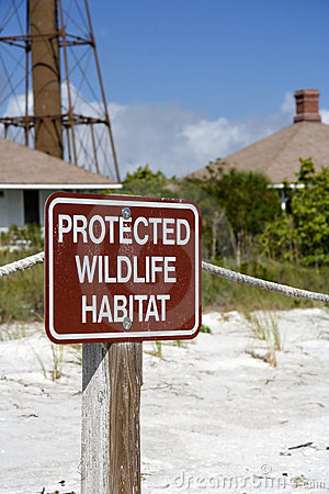 Wildlife Protection Sign