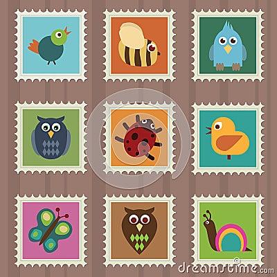 Wildlife stamps