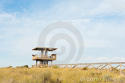 Wildlife watchtower