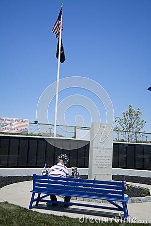 Wildwood Vietnam War Memorial Editorial Photo