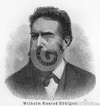 Wilhelm Conrad Rontgen Editorial Photo