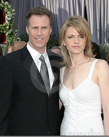 Will Farrell & wife 78th Academy Award Arrivals Kodak Theater Hollywood, CA March 5, 2006 Editorial Stock Image