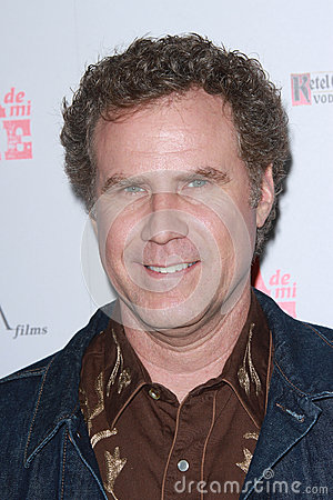 Will Ferrell Editorial Stock Image