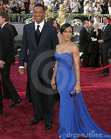 Will & Jada Smith 78th Academy Award Arrivals Kodak Theater Hollywood, CA March 5, 2006 Editorial Stock Photo