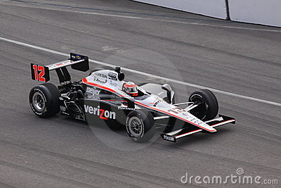 Will Power 12 Indianapolis 500 Pole Day 2011 Indy Editorial Stock Image