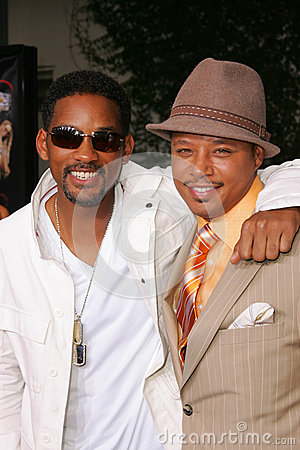 Will Smith,Terrence Dashon Howard Editorial Photo