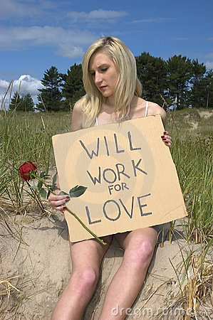 Will Work for Love, Relationships Concept