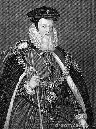 William Cecil Editorial Stock Image