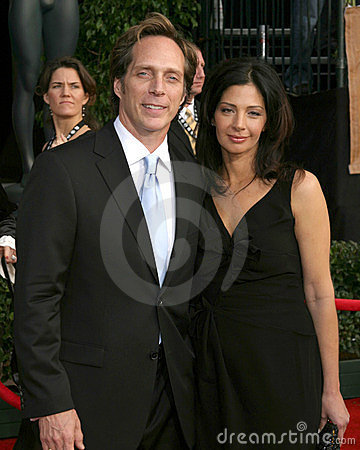 William Fitchner & wife 12th Annual Screen Actors Guild  Awards Shrine Auditorium Los Angeles, CA January 29, 2006 Editorial Image