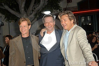 William H. Macy, Chris Cooper, Jeff Bridges, William H Macy Editorial Photo