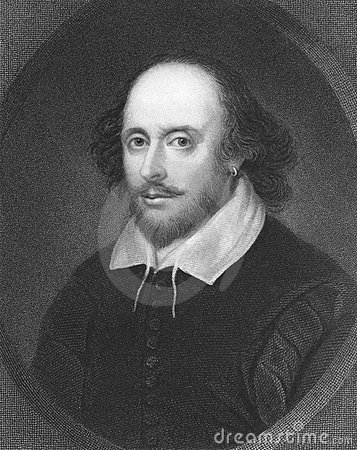 William Shakespeare Redactionele Stock Foto