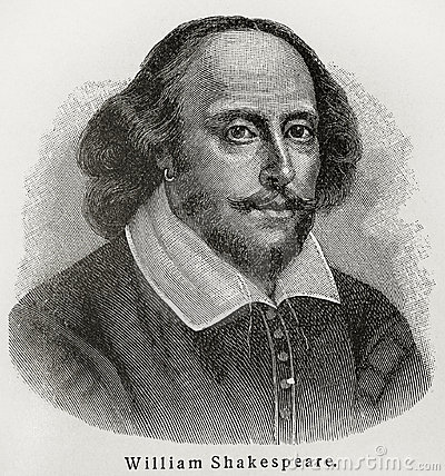 William Shakespeare Editorial Stock Photo