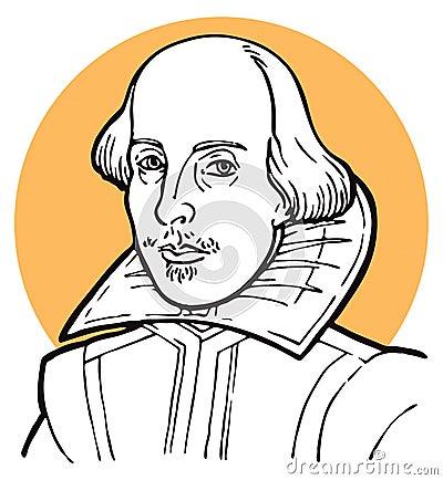 William Shakespeare Editorial Image