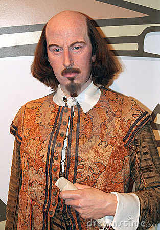 William Shakespeare at Madame Tussaud s Editorial Image