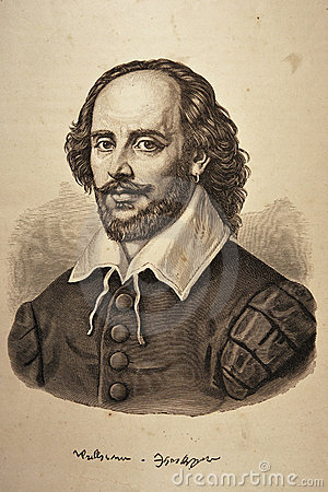 Free William Shakespeare Portrait Stock Photo - 13702890