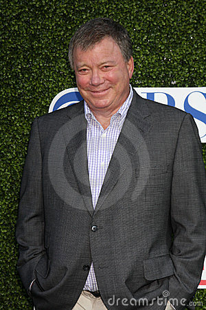 William Shatner Editorial Stock Image