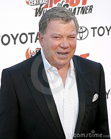 William Shatner Editorial Photo