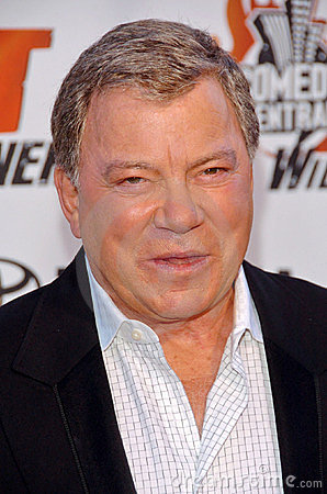 William Shatner Editorial Image