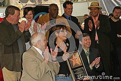 William Shatner, Ernie Hudson, Diedrich Bader, George Lopez, Johnny Grant, Sandra Bullock, Leron Gubler Editorial Photo