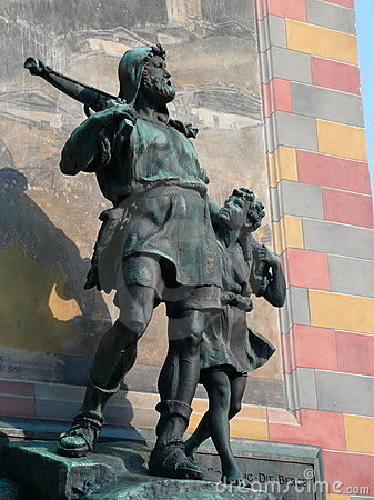 William Tell and his son