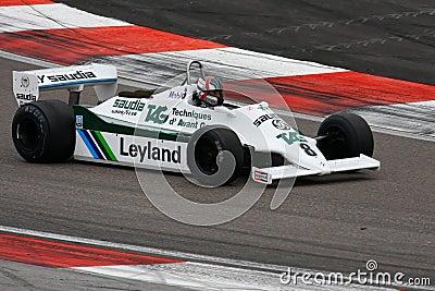 Williams F1 (ex- Alan Jones) Editorial Image