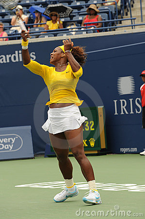 Williams Serena at Rogers Cup 2009 (25) Editorial Stock Image