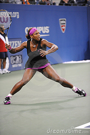 Williams Serena at US Open 2009 (123) Editorial Stock Image