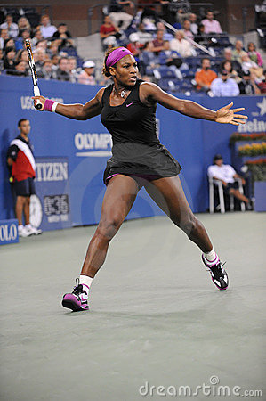 Williams Serena at US Open 2009 (4) Editorial Image