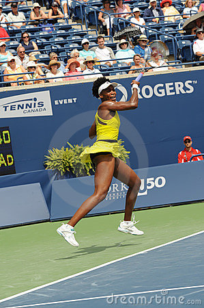 Williams Venus at Rogers Cup 2009 (63) Editorial Photography