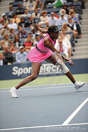 Williams Venus at US Open 2009 (246) Editorial Photo
