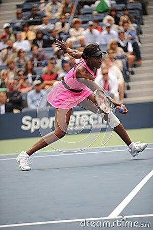 Williams Venus at US Open 2009 (246) Editorial Photo
