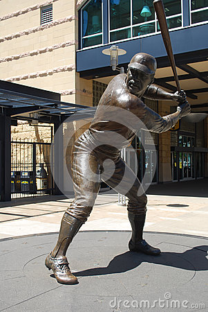 Willie Stargell statue at PNC Park Editorial Photo