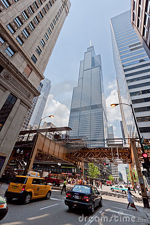 Willis Tower Chicago Editorial Stock Image