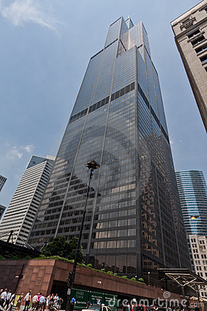 Willis Tower Chicago Editorial Photography