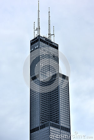 Free Willis Tower - Chicago Royalty Free Stock Images - 62173979