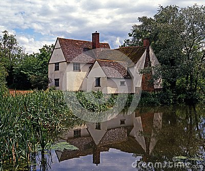 Willy Lotts Cottage, East Bergholt, England.
