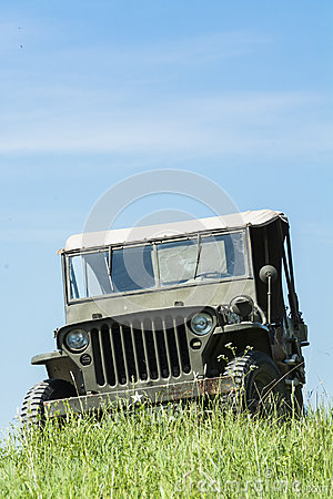 Willys Jeep Editorial Image
