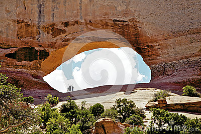 Wilson Arch Utah