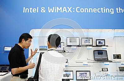Wimax equipment Editorial Stock Photo