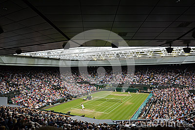 Wimbledon 2012 men s semi final Editorial Stock Photo