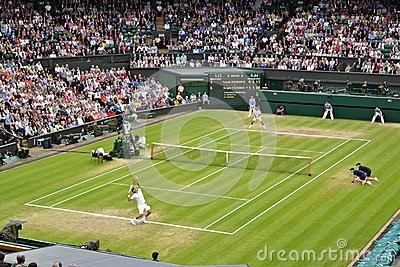 Wimbledon 2012 men s semi final Editorial Photo