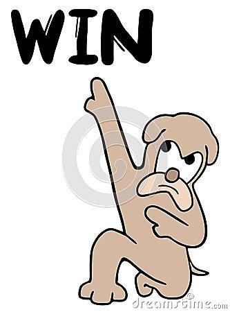 Win dog