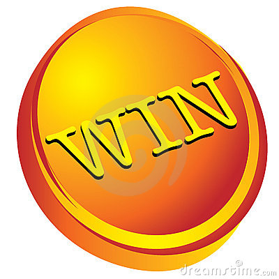 Win on gold 3d design