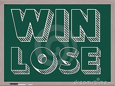 Win Lose Blackboard
