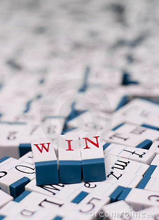 Win message