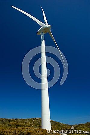 Wind-Bauernhof, Albanien