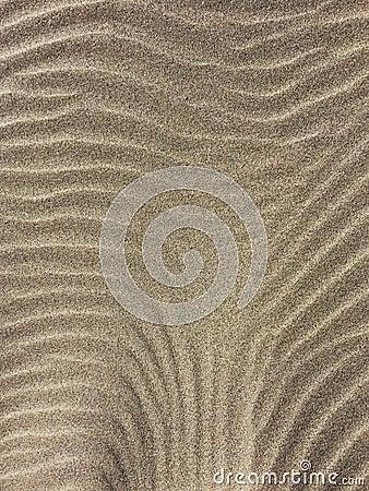 Free Wind Blown Sand Patterns Stock Photo - 82532480
