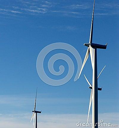 Wind-driven generator